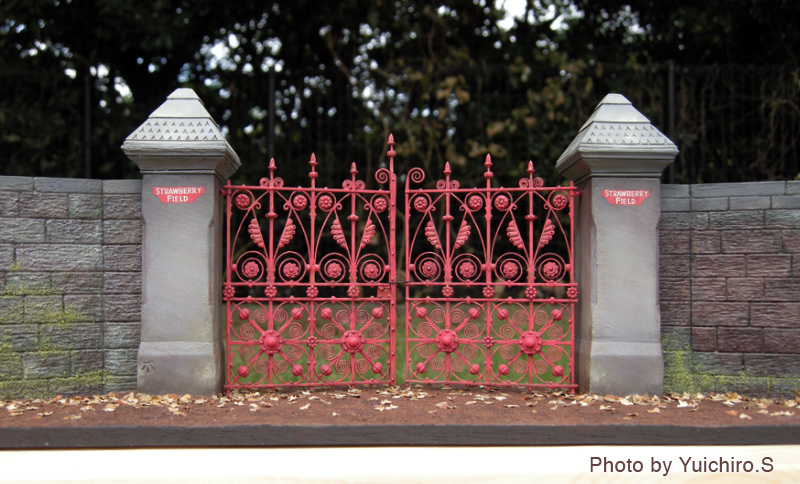 ストロベリーフィールドの立体模型