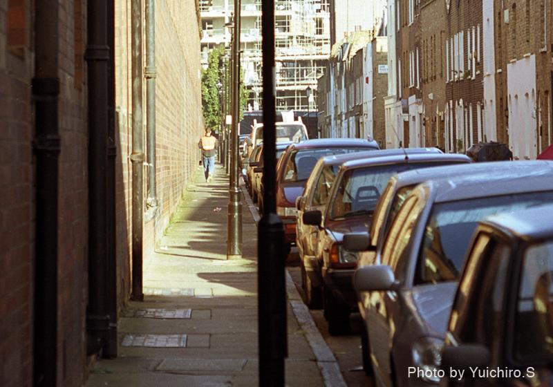 ロンドンのボストン・プレイス