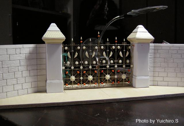 ストロベリーフィールド模型制作09